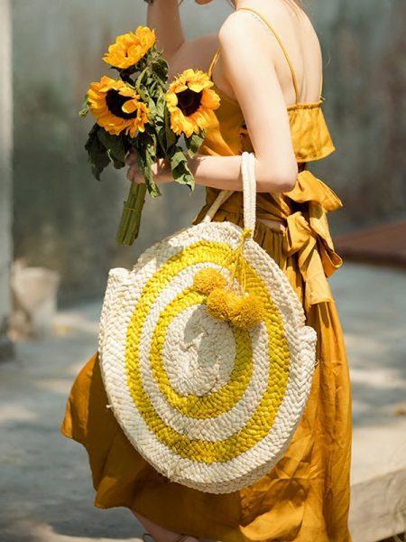 საზაფხულო, ჭილის პლაჟის ჩანთა